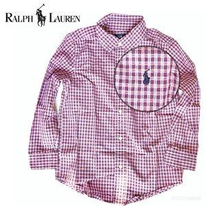 Ralph Lauren boys dress shirt, 8